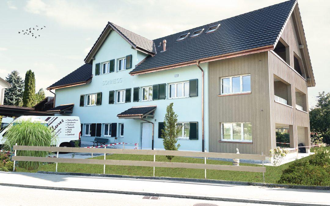 Hausbesichtigung in Altnau